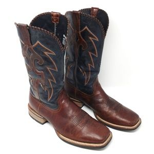 Ariat Whiplash Leather Cowboy Western Boots Sz 12